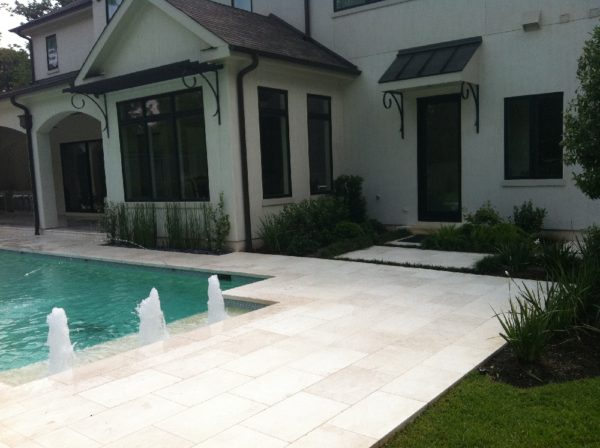 Freska Limestone Paver 16x24 Tumbled 7 White Gray Outdoor Floor Wall Pool Patio Backyard QDIsurfaces