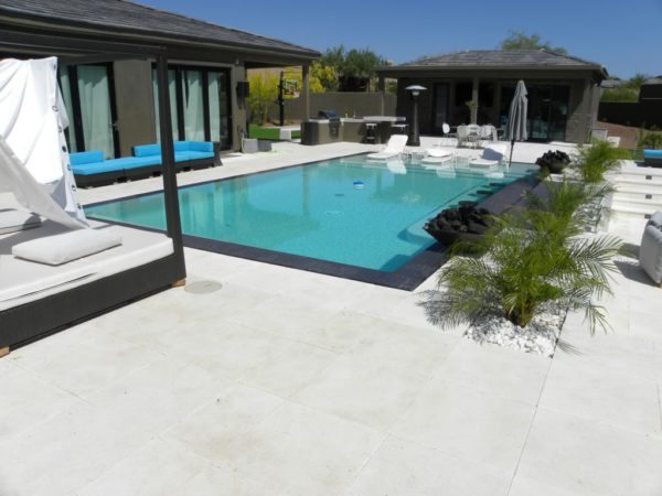 Freska Limestone Paver 24x24 Tumbled 14 White Gray Outdoor Floor Wall Pool Patio Backyard QDIsurfaces