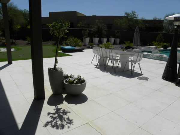 Freska Limestone Paver 24x24 Tumbled 2 White Gray Outdoor Floor Wall Pool Patio Backyard QDIsurfaces