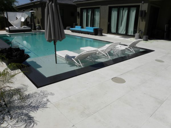 Freska Limestone Paver 24x24 Tumbled 4 White Gray Outdoor Floor Wall Pool Patio Backyard QDIsurfaces