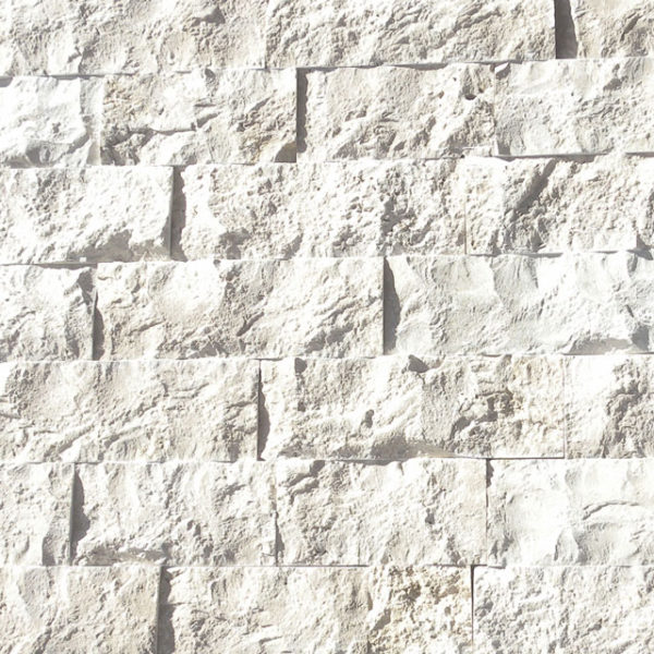 Freska Limestone Split Face Tile Gray White Indoor Outdoor Wall Backsplash Tub Shower Vanity QDIsurfaces