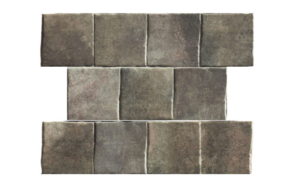 "GEO-TECH MOUNTAIN 9""x9"" Glazed Extruded Porcelain Tile"