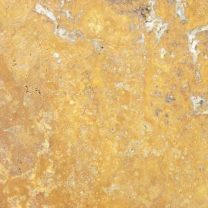 Gold Travertine Paver Tan Brown Beige Cream Yellow Gold Outdoor Floor Wall Pool Patio Backyard Tub Shower Vanity QDIsurfaces