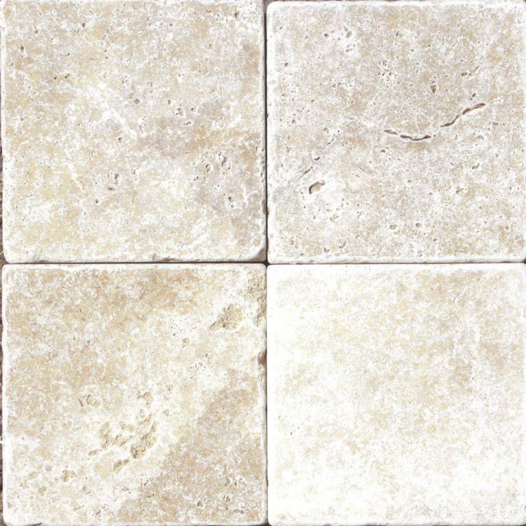 Tumbled Light Beige Stone Effect Travertine Wall Floor: Ivory Beige Travertine Natural Stone Paver