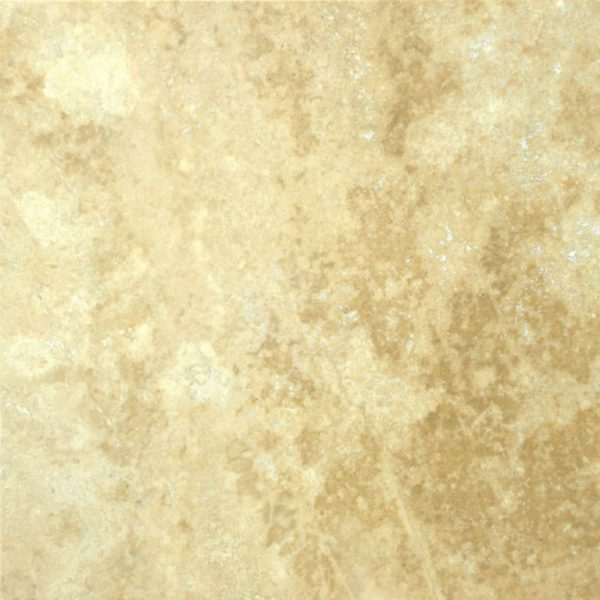 Ivory Beige Travertine Tile 18x18 Filled Honed Tan Brown Beige Cream Indoor Wall Backsplash Countertop Tub Shower Vanity QDIsurfaces
