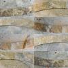 Fantastico Lipunus Pattern 4x10 Travertine Split-face Mosaic Tile