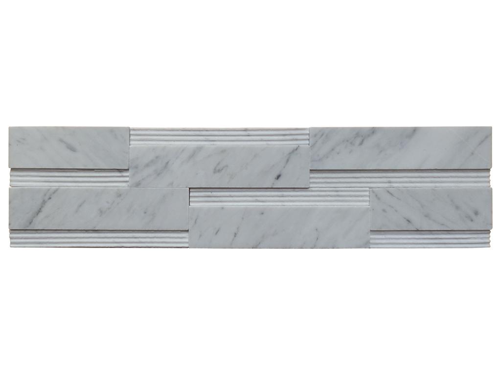 LUSSO CARRARA Marble Mosaic Tile | QDI Surfaces