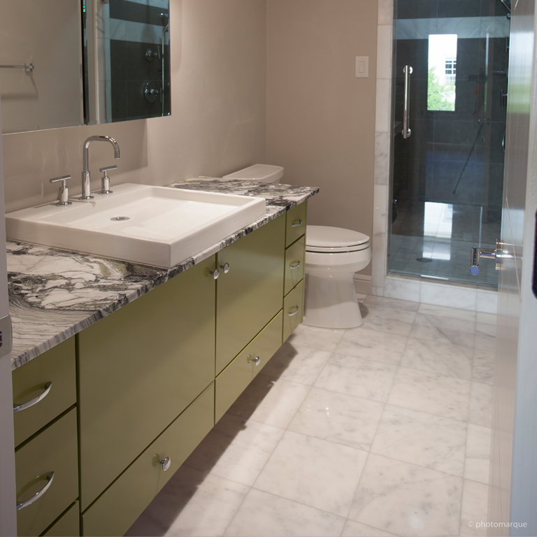 LUSSO CARRARA Marble Tile QDI Surfaces - Marble slab for bathroom vanity