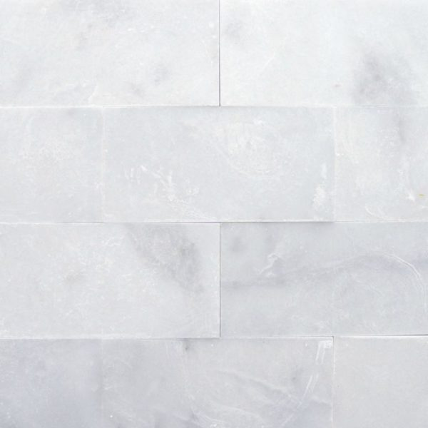 Lusso Carrara Marble Tile 6x12 Polished Gray White Indoor Floor Wall Backsplash Tub Shower Vanity QDIsurfaces