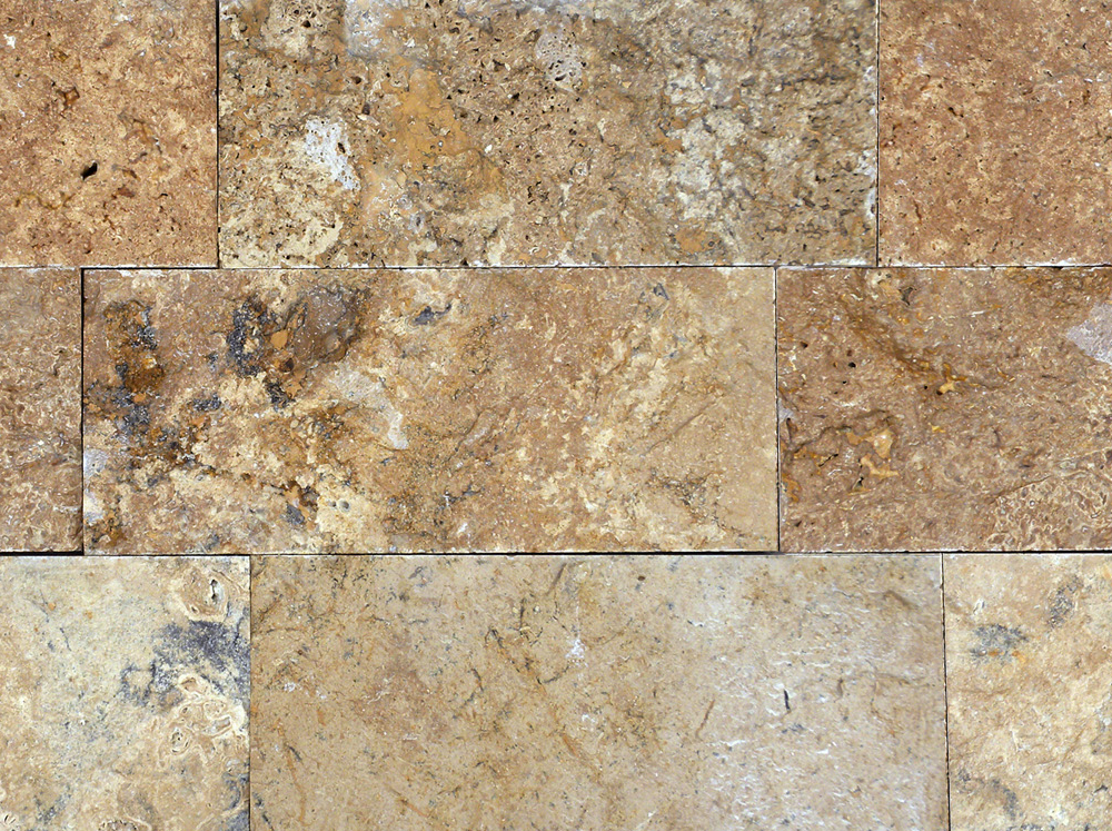 Travertine Tile Product : Noce travertine split face tile qdi surfaces