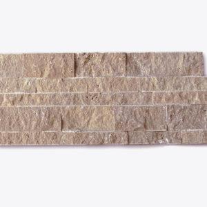 QDI Noce 3-Size Travertine Split-face Mosaic Tile