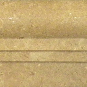 Noce Travertine Trim Tile Beige Cream Tan Brown Gray White Indoor Wall Backsplash Tub Shower Vanity QDIsurfaces