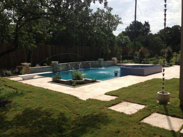 Nysa Travertine Paver Versailles Pattern Tumbled 3 Tan Brown Beige Cream Outdoor Floor Wall Pool Patio Backyard Tub Shower Vanity QDIsurfaces