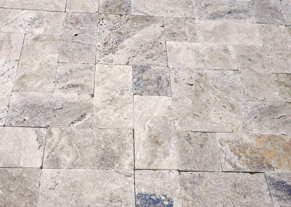 Philadelphia travertine natural stone paver qdisurfaces for Philadelphia flooring