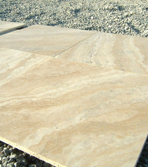 Philadelphia Travertine Tile 18x18 Filled Honed Beige Cream Tan Brown Gray White Indoor Wall Backsplash Countertop Tub Shower Vanity QDI