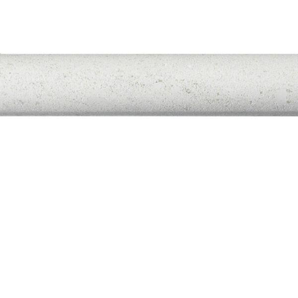 Porto Rosal Limestone Trim Tile White Gray Indoor Floor Wall Backsplash Tub Shower Vanity QDIsurfaces