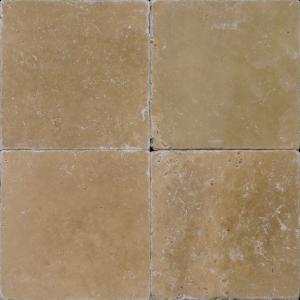 "QDI Noce 6""x6"" Travertine Tumbled Tile"