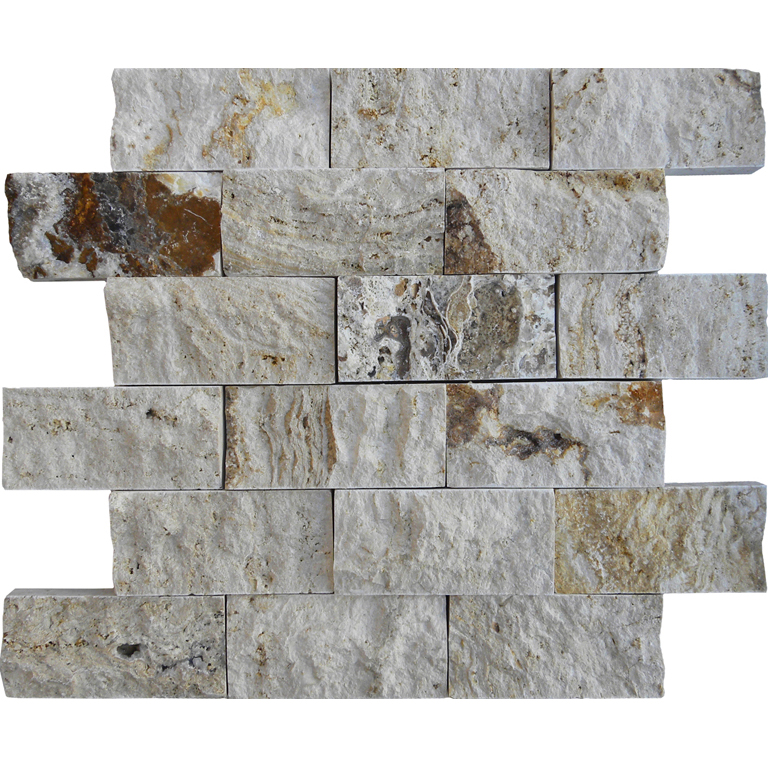 RIVIERA Travertine Split Face Tile QDI Surfaces