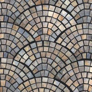 Rustic Flagmat Slate Paver Tan Brown Blue Gray White Outdoor Floor Wall Pool Patio Backyard Tub Shower Vanity QDIsurfaces