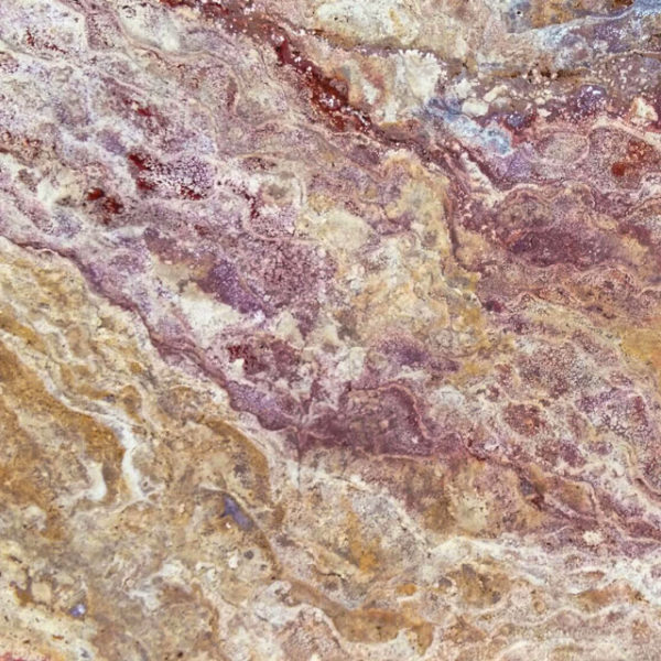 Sedona Fantastico Travertine Paver Tan Brown Beige Cream Red Pink White Gray Outdoor Floor Wall Pool Patio Backyard Tub Shower QDI