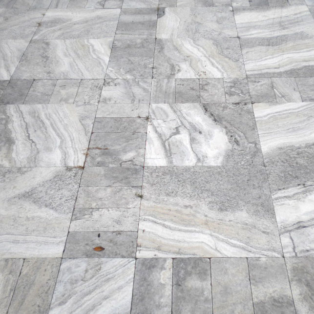 Silver Travertine Natural Stone Paver Qdisurfaces