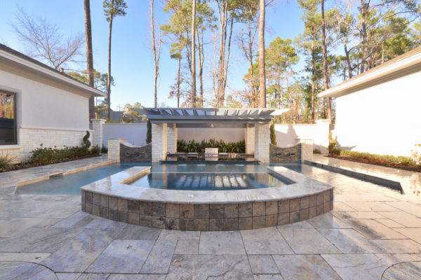Silver Travertine Paver Versailles Pattern Tumbled 5 Gray White Outdoor Floor Wall Pool Patio Backyard Tub Shower Vanity QDIsurfaces