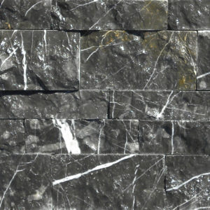 Taurus Black Marble Mosaic Tile Black White Indoor Floor Wall Backsplash Tub Shower Vanity QDIsurfaces