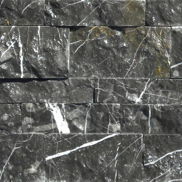 Taurus Black Marble Mosaic Tile Black White Indoor Floor Wall Backsplash Tub Shower Vanity QDIsurfaces