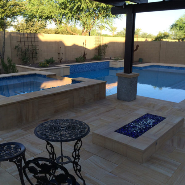 Teakwood Sandstone Paver Versailles Pattern Sandblasted 6 Tan Brown Beige Cream Outdoor Floor Wall Pool Patio Backyard QDIsurfaces
