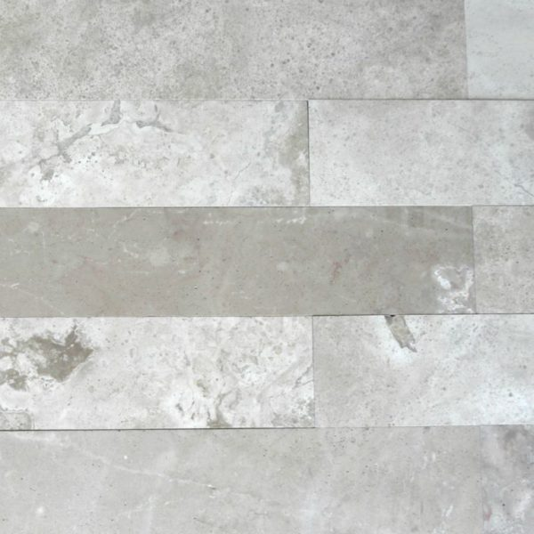 Tufa Limestone Plank Floor Tile 6x36 Honed 2 Gray White Beige Cream Indoor Floor Wall Backsplash Tub Shower Vanity QDIsurfaces