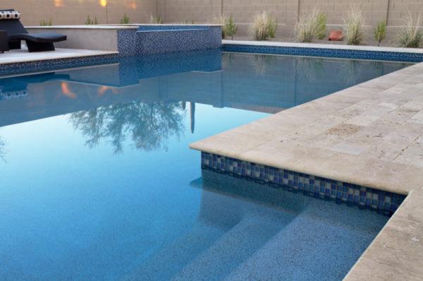 Walnut Travertine Paver 16x24 Tumbled 5 Tan Brown Beige Cream Outdoor Floor Wall Pool Patio Backyard Tub Shower Vanity QDIsurfaces