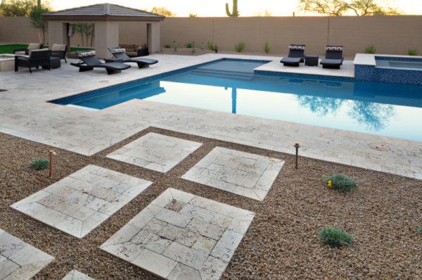 Walnut Travertine Paver 6x12 Tumbled 24 Tan Brown Beige Cream Outdoor Floor Wall Pool Patio Backyard Tub Shower Vanity QDIsurfaces