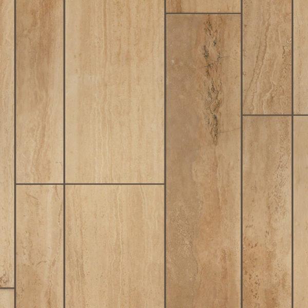 Walnut Travertine Plank Floor Tile Tan Brown Beige Cream Gray White Indoor Floor Wall Backsplash Countertop Tub Shower Vanity QDI