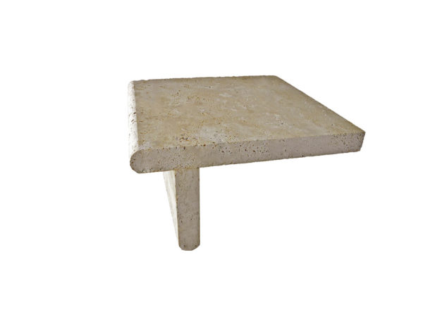 Walnut Travertine Pool Coping 12x12 3cm Honed 2 Tan Brown Beige Cream Gray White Outdoor Floor Wall Pool Patio Backyard Tub Shower Vanity