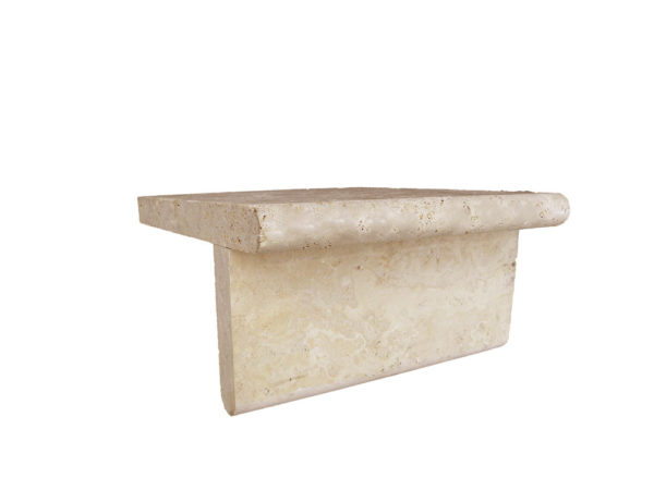 Walnut Travertine Pool Coping 12x12 3cm Honed Tan Brown Beige Cream Gray White Outdoor Floor Wall Pool Patio Backyard Tub Shower Vanity