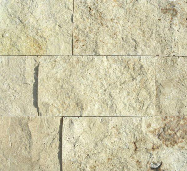 Walnut Travertine Split Face Tile 6 x Random Length 2 Tan Brown Beige Cream Gray White Indoor Outdoor Wall Backsplash Tub Shower Vanity