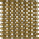 Zeugma Arch 809 N95 Glass Mosaic Tile Brown Tan Beige Cream Outdoor Indoor Wall Backsplash Tub Shower Vanity QDIsurfaces