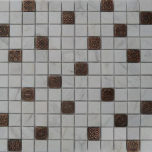 Zeugma BW 003 Glass Mosaic Tile Beige Cream White Brown Tan Gray Outdoor Indoor Wall Backsplash Tub Shower Vanity QDIsurfaces