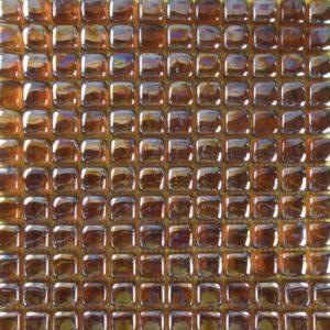 Zeugma Bolla Vetro IB 16 Glass Mosaic Tile Orange Peach Red Pink Gray Outdoor Indoor Wall Backsplash Tub Shower Vanity QDI
