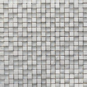 Zeugma GM 168 Glass Mosaic Tile Gray White Outdoor Indoor Wall Backsplash Tub Shower Vanity QDIsurfaces