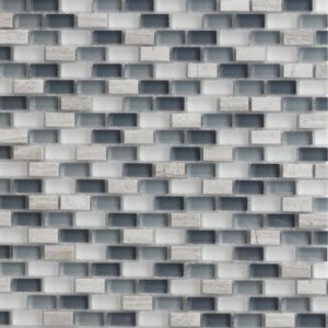 Zeugma GM12 006 Glass Mosaic Tile Gray White Beige Cream Blue Outdoor Indoor Wall Backsplash Tub Shower Vanity QDIsurfaces