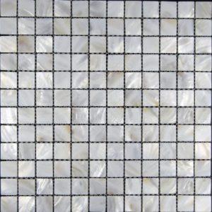 Zeugma Mother of Pearl SH 01 Glass Mosaic Tile Brown Tan Beige Gray Outdoor Indoor Wall Backsplash Tub Shower Vanity QDI