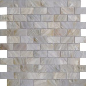 Zeugma Mother of Pearl SHB 01 Glass Mosaic Tile Brown Gray Outdoor Indoor Wall Backsplash Tub Shower Vanity QDIsurfaces