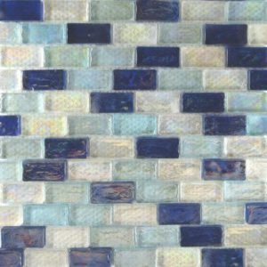 Zeugma Opalescence IBR 01 02 07 Glass Mosaic Tile Blue White Yellow Pink Outdoor Indoor Wall Backsplash Tub Shower Vanity