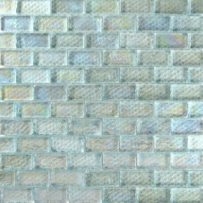 Zeugma Opalescence IBR 02 Glass Mosaic Tile Blue Green Yellow Outdoor Indoor Wall Backsplash Tub Shower Vanity QDIsurfaces