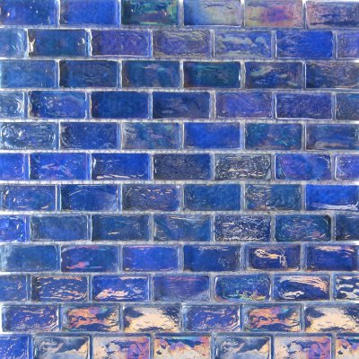 Zeugma Opalescence IBR 07 Glass Mosaic Tile Blue Red Pink Outdoor Indoor Wall Backsplash Tub Shower Vanity QDIsurfaces