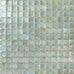 Zeugma Opalescence IC 02 Glass Mosaic Tile Blue Green Outdoor Indoor Wall Backsplash Tub Shower Vanity