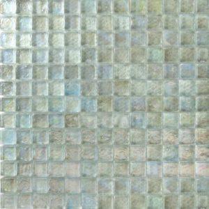 Zeugma Opalescence IC 02 Glass Mosaic Tile Blue Green Outdoor Indoor Wall Backsplash Tub Shower Vanity