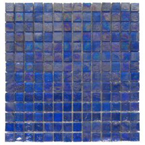 Zeugma Opalescence IC 07 Glass Mosaic Tile Blue Pink Outdoor Indoor Wall Backsplash Tub Shower Vanity QDIsurfaces