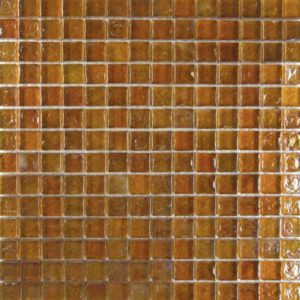 Zeugma Opalescence IC 16 Glass Mosaic Tile Brown Tan Outdoor Indoor Wall Backsplash Tub Shower Vanity QDIsurfaces